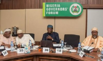 Governors To Meet Over Spread Of COVID-19, Other Matters