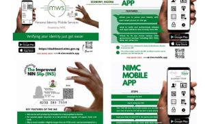 Nimc 300x181 - NIMC Unveils Mobile App For Applicants, Improved NIN Slip