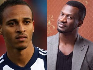 Osaze and Peter Okoye 300x225 - Ex-Super Eagles Star, Osaze Odemwingie Accuses Singer, Peter Okoye Of Stealing