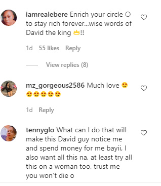 Reaction 4 - Davido Buys 7-Shirts, Watches For N4.4m In Dubai – Fans React