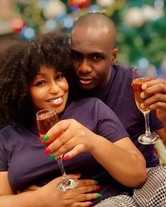 Rita Domnic and lover 240x300 - Rita Dominic Reveals The Face Of Her New Lover (Photos)