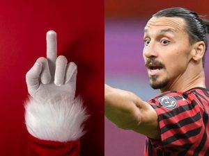 Zlatan  300x225 - Zlatan Under 'Attack' Over 'Offensive' Christmas Photo