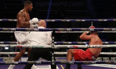 Buhari Reacts As Anthony Joshua Knocks Out Pulev