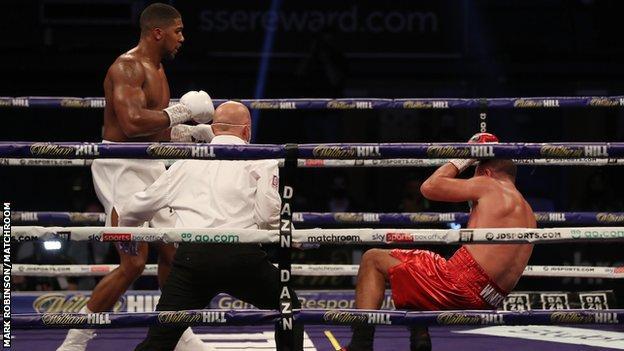 Buhari Reacts As Anthony Joshua Knocks Out Pulev