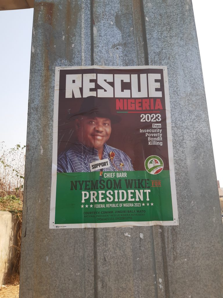 20210125 094732 768x1024 1 - 2023: Wike's Presidential Campaign Posters Emerge (Photos)