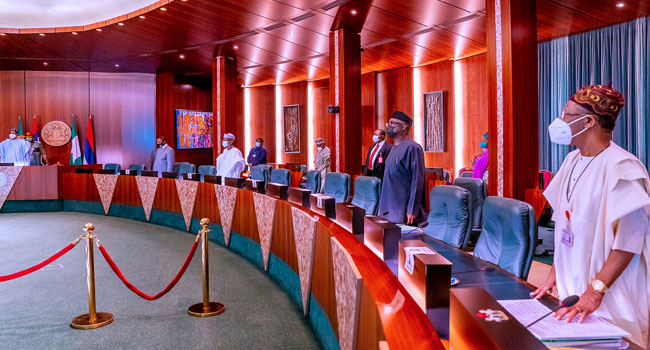 6 FEC Meeting Jan 27 - FEC: Council Members Observe A Minute Silence In Honour Of Three Late Ministers (Photos)