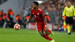 Alaba in action for Bayern Munich 300x167 - Two Players Real Madrid Will Sell If Alaba Is Signed