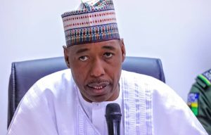 2023: Just Like Masari, Zulum Calls For Power Shift To South