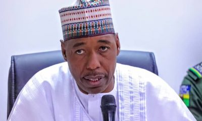 Engage Services Of Mercenaries To End Insurgency, Zulum Tells Buhari