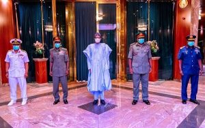Buhari Begins 'Prayer and Fasting' For New Service Chiefs