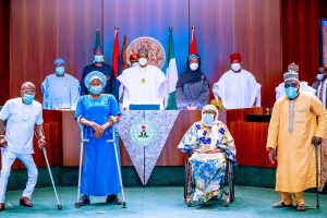 Buhari and disability commission 300x200 - Disability Bill: I Have Fulfilled My Promise To Nigerians With Special Needs – Buhari