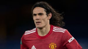 CAVANI Utd 300x169 - Man Utd's Cavani Banned For Three Games For Instagram Post