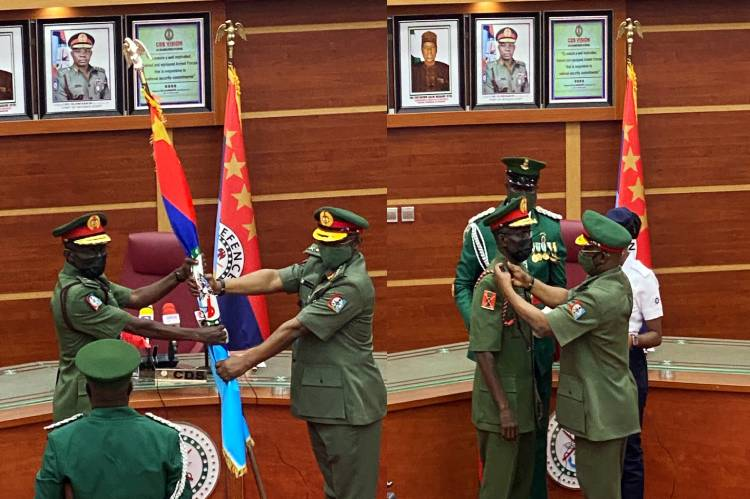BREAKING: Irabor Resumes As Chief Of Defence Staff, Shuns N/Assembly Approval