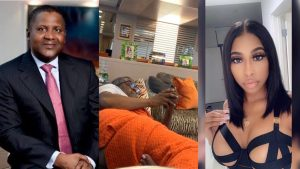 Dangote and Spikes 300x169 - Dangote's Ex-girlfriend Evicted Over Six Months' Unpaid Rent