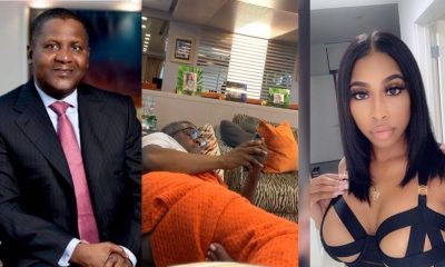 Dangote's Ex-girlfriend Evicted Over Six Months' Unpaid Rent