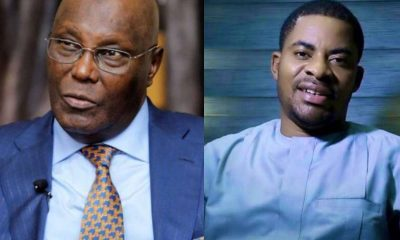 Deji Adeyanju Roasts Atiku For 'Running' To Dubai