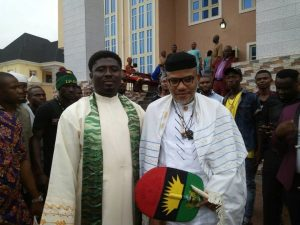 Ebube Muonso and Nnamdi Kanu 300x225 - Popular Catholic Priest Releases Powerful 2021 Prophecies, Says Buhari Should Resign