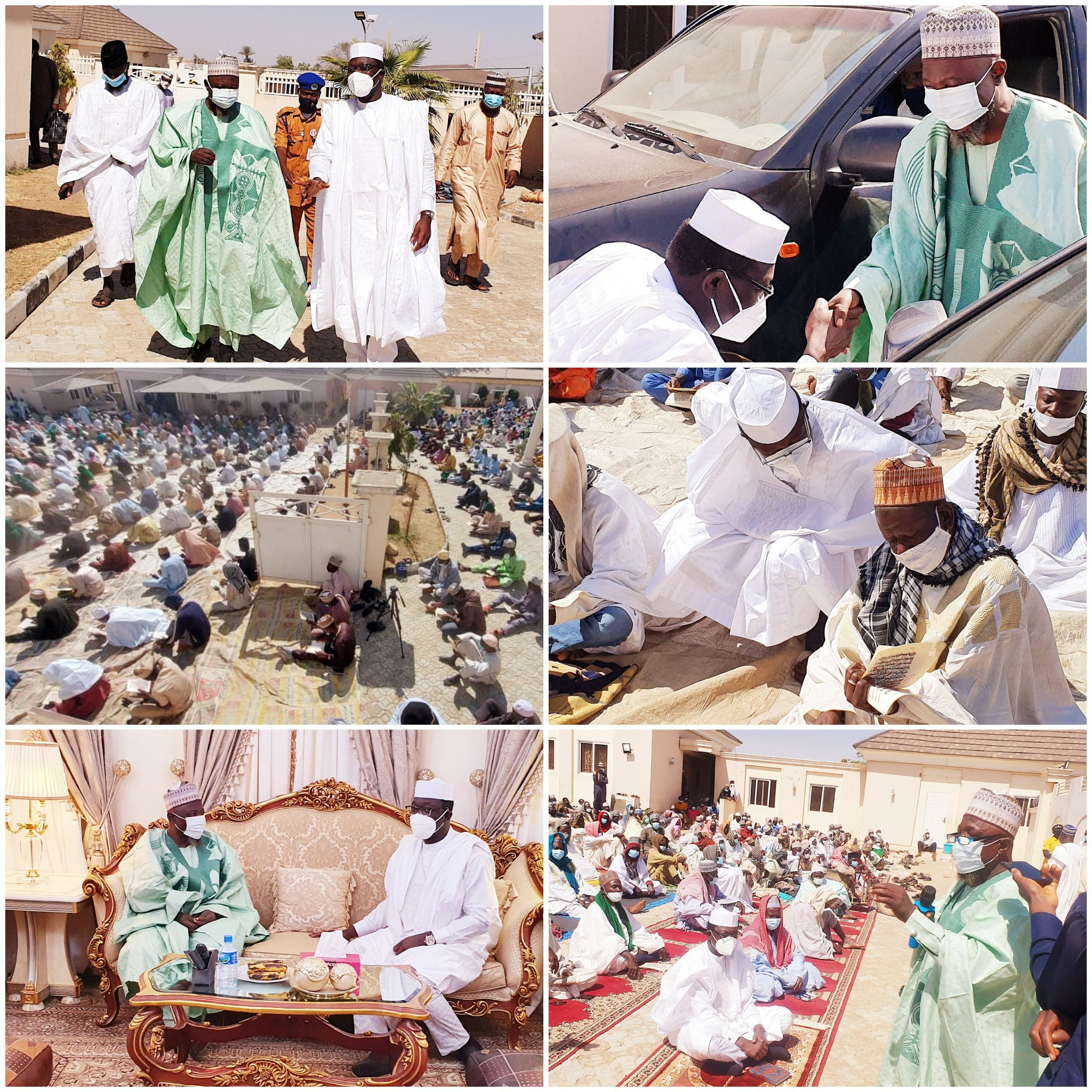 EskX9OiXAAEm8Y1 - Insecurity: 1000 Imams Gather In Kano To Pray For Buhari, Nigeria (Photos)
