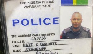 Fake Police 300x174 - 'Police Officer' Arrested With 30kg Of Indian Hemp