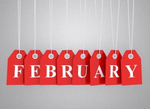 February 300x217 - 100 Lovely New Month Messages And SMS To Send To Friends, Family In February