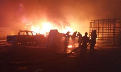 Fire Guts Nigerian Army Headquarters