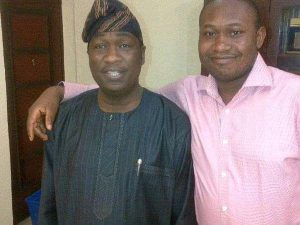 Hamzat and brother 300x225 - Lagos Deputy Gov, Hamzat Finally Reacts To Death Of Younger Brother