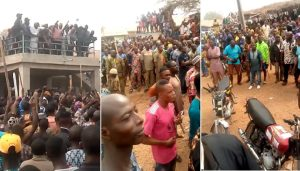 Igbohoand supporters 300x171 - Oyo: Two Feared Dead As Herdsmen, Sunday Igboho's Supporters Clash