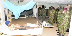 Injured troops 300x152 - 'We've Been Abandoned, Not Being Paid Our Allowances' – Wounded Soldiers