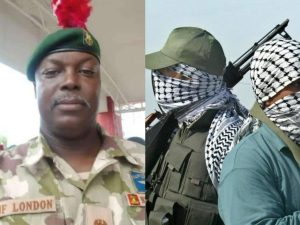 J.F London Killed by Bandits 300x225 - JUST IN: Senior Military Officer Killed By Gunmen In Hilux Vehicles Given To 'Repentant' Bandits