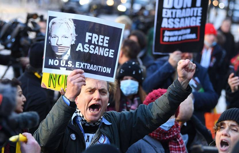 Julian Assange will not be extradited to the United States, but he remains in detention in the United Kingdom