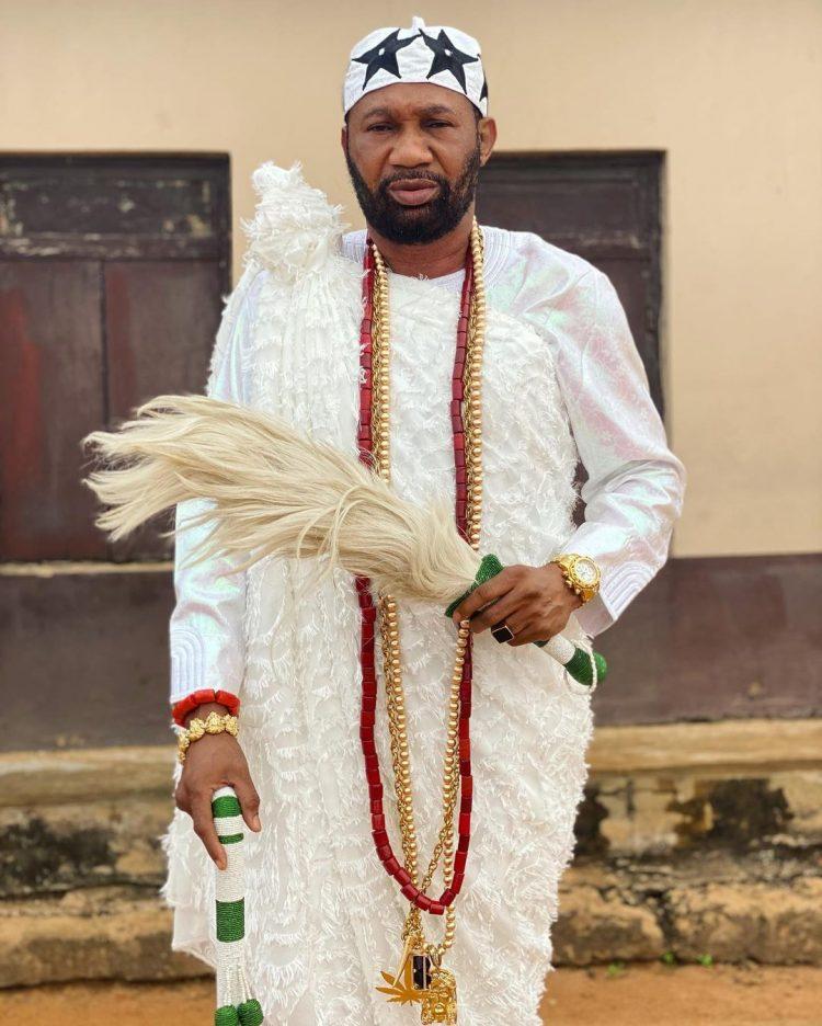 Nollywood Actor Installed As King In Ogun