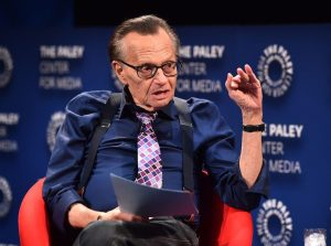 LARRY KING 300x223 - Former CNN Anchor, Larry King Test Positive For COVID-19, Hospitalized