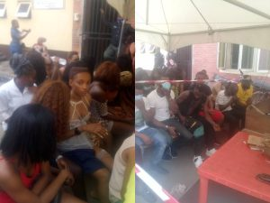 Lagos Clubbers 300x225 - 43 Clubbers, Strippers Arrested In Lagos