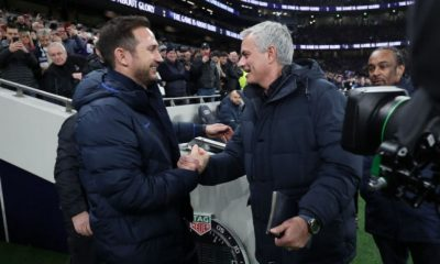 Mourinho Reacts To Lampard Sacking At Chelsea