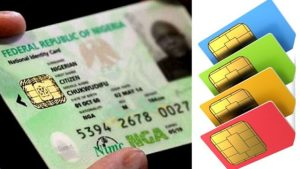 NIN and sim 300x169 - FG Says NIN Now Mandatory For Bank Accounts, Voter Registration