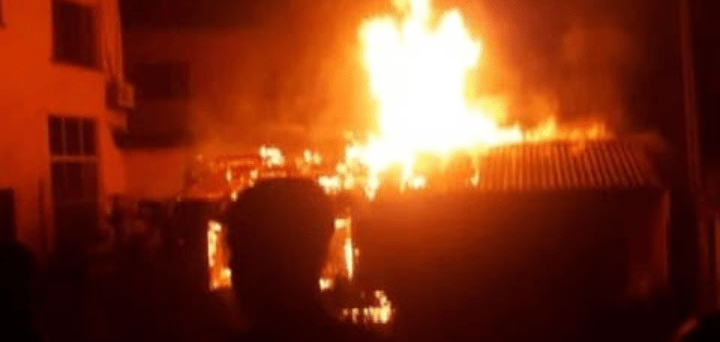 Just In: Fire Guts INEC's Data Centre In Kano