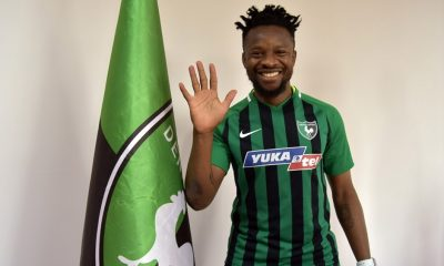 Onazi Terminates Contract With Danish Club, SonderjyskE