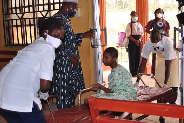 Osun rescued girl 2 - 20-Year-Old Lady Locked Up For 5 Years By Her Father Rescued In Osun State (Photos)