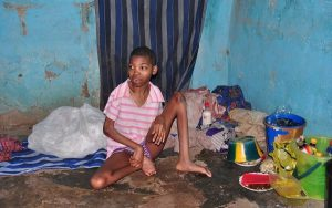 Osun rescued girl 300x188 - 20-Year-Old Lady Locked Up For 5 Years By Her Father Rescued In Osun State (Photos)