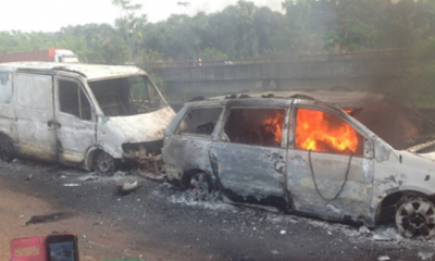 17 People Burnt To Death In A Car Accident In Nasarawa State