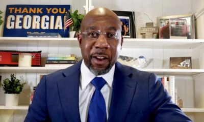 Democrat Warnock Defeats Republican Loeffler In Georgia Senate Runoff