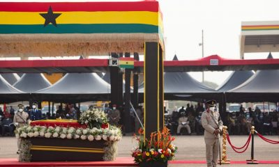 Former Ghanaian President Rawlings Laid To Rest