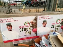 Segun Oni 2 - Segun Oni's Governorship Campaign Posters Spotted In Ekiti