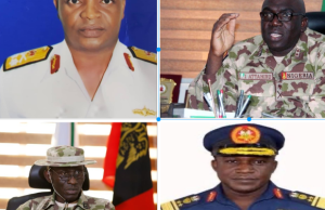 Service chiefs 300x194 - Nigerians Not In Position To Assess New Service Chiefs –Adesina