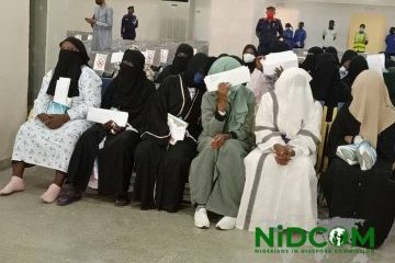 Stranded Nigerians Evacuated From Saudi Arabia Reject Quarantine (Video)