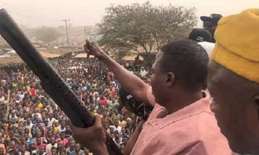 'Sunday Igboho Hiding Under Activism To Escape Fraud Arrest'