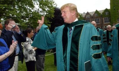 Two US College Revoke Honorary Degree Awarded To Trump