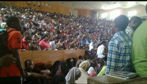 University lecture room overcrowded with students 300x171 - School Resumption Not Safe, Many COVID-19 Cases Not Reported In Nigeria – University Don
