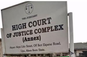 Uyo Court 300x196 - Alleged Molestation: Deeper Life School Principal, Six Others Granted Bail