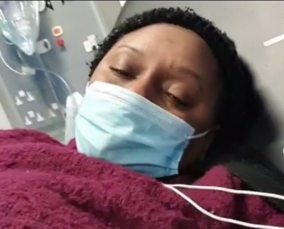 Veteran Nollywood actress and producer, Victoria Inyama, has revealed that she is currently battling the COVID-19 disease.